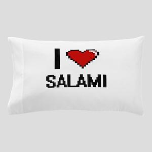 I Love Salami Digital Design Pillow Case