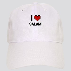 I Love Salami Digital Design Cap