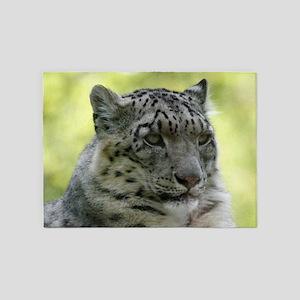 Leopard006 5'x7'Area Rug