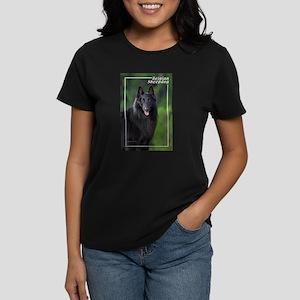 Belgian Sheepdog-1 Women's Dark T-Shirt