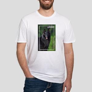 Belgian Sheepdog-1 Fitted T-Shirt