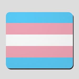 Transgender Pride Flag Mousepad