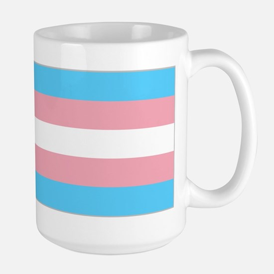 Transgender Pride Flag Large Mug