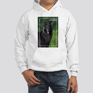 Belgian Sheepdog-1 Hooded Sweatshirt