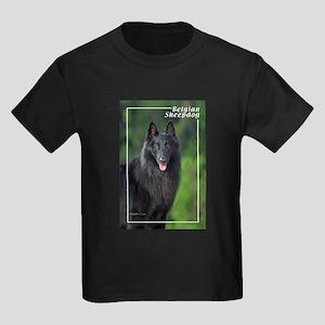 Belgian Sheepdog-1 Kids Dark T-Shirt