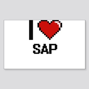 I Love Sap Digital Design Sticker