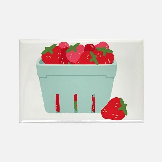 Strawberries Basket Magnets