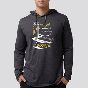 All This Girl Cares about Is R Long Sleeve T-Shirt