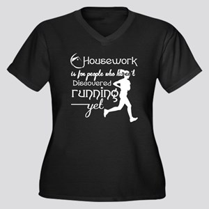 Who Haven't Discovered Running Y Plus Size T-Shirt