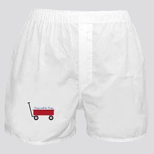 Boys Will Be Boys Boxer Shorts