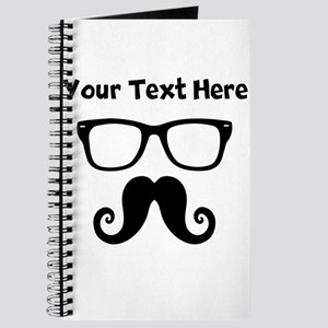 Custom Mustache Face Journal