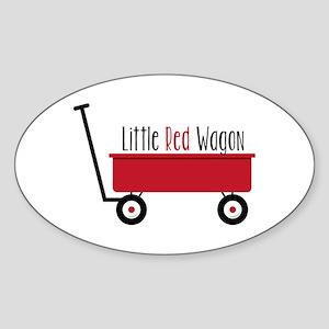 Little Red Wagon Sticker