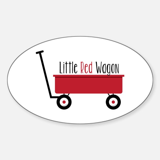 Little Red Wagon Decal
