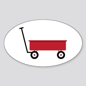 Red Wagon Sticker