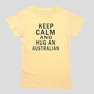 Keep Calm And Australian Designs Girl's Tee