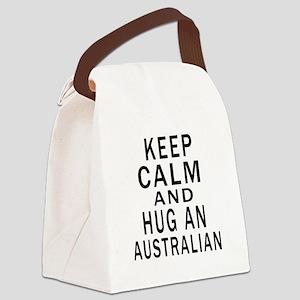 Keep Calm And Australian Designs Canvas Lunch Bag