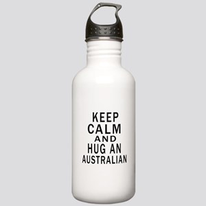 Keep Calm And Australi Stainless Water Bottle 1.0L