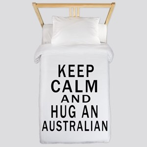 Keep Calm And Australian Designs Twin Duvet
