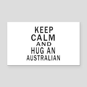 Keep Calm And Australian Desi Rectangle Car Magnet