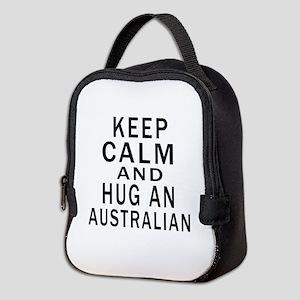 Keep Calm And Australian Design Neoprene Lunch Bag