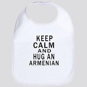 Keep Calm And Armenian Designs Bib
