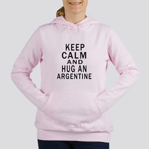 Keep Calm And ARGENTINE Women's Hooded Sweatshirt