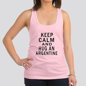 Keep Calm And ARGENTINE or Desi Racerback Tank Top