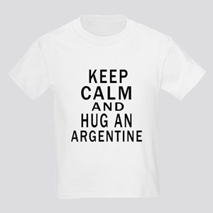 Keep Calm And ARGENTINE or Desi Kids Light T-Shirt