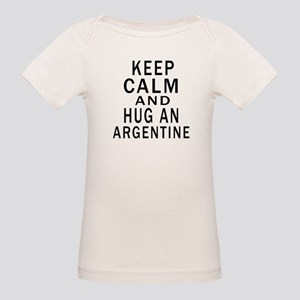 Keep Calm And ARGENTINE or De Organic Baby T-Shirt
