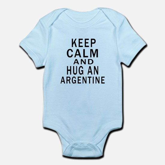 Keep Calm And ARGENTINE or Designs Infant Bodysuit
