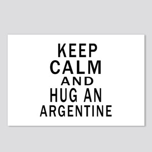 Keep Calm And ARGENTINE o Postcards (Package of 8)