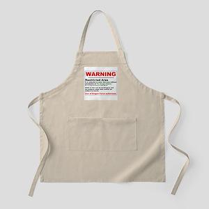 Dragon Force Warning BBQ Apron