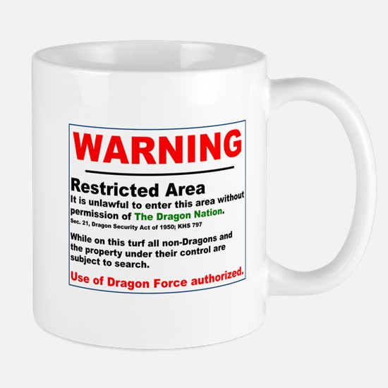 Dragon Force Warning Mug