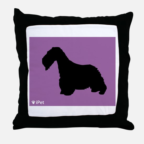 Cesky iPet Throw Pillow