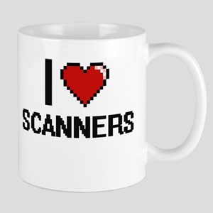 I Love Scanners Digital Design Mugs