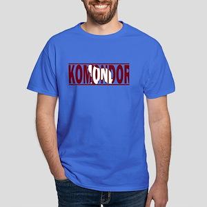 Red Hidden Komondor Dark T-Shirt