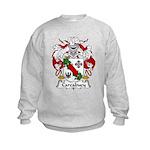 Carcabuey Family Crest Kids Sweatshirt