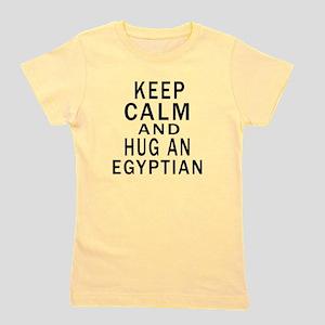Keep Calm And Egyptian Designs Girl's Tee
