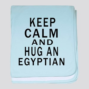 Keep Calm And Egyptian Designs baby blanket