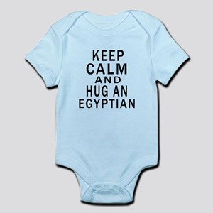 Keep Calm And Egyptian Designs Infant Bodysuit