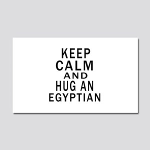 Keep Calm And Egyptian Designs Car Magnet 20 x 12