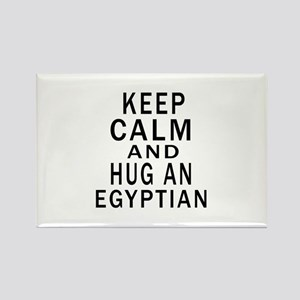 Keep Calm And Egyptian Designs Rectangle Magnet