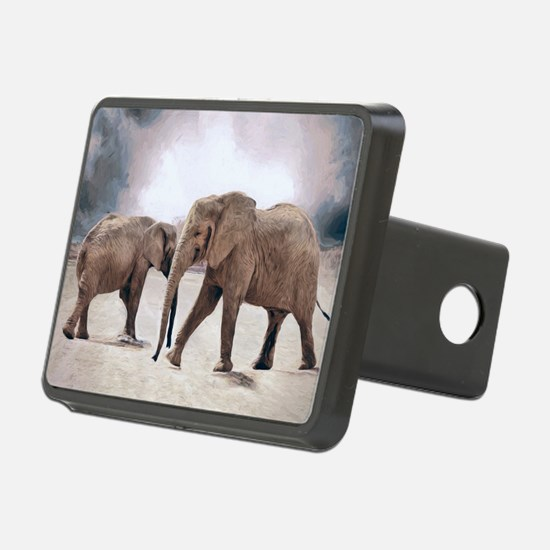 The Elephants Hitch Cover