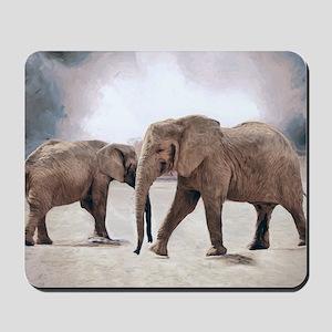 The Elephants Mousepad