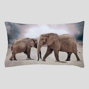 The Elephants Pillow Case