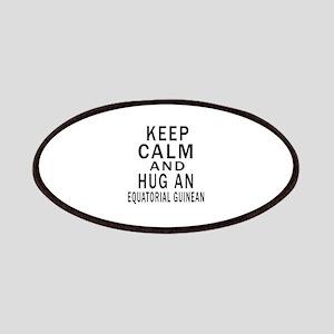 Keep Calm And Equatorial Guinean or Equatogu Patch