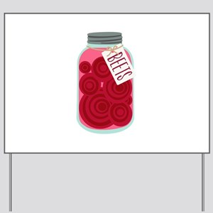 Pickled Beets Yard Sign
