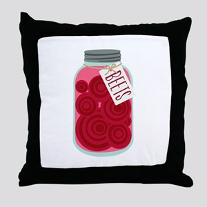 Pickled Beets Throw Pillow