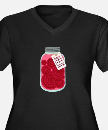 Pickled Beets Plus Size T-Shirt