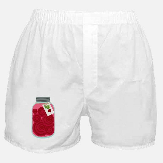 Pickled Beets Boxer Shorts